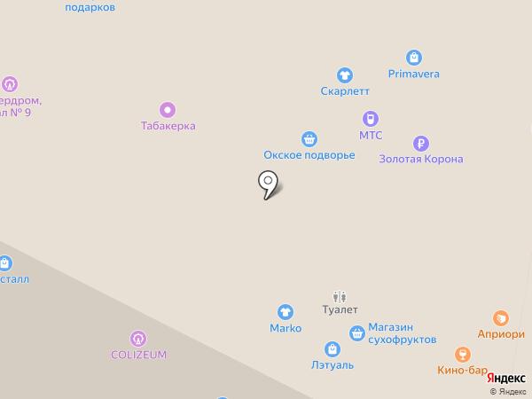 Орматек на карте Рязани