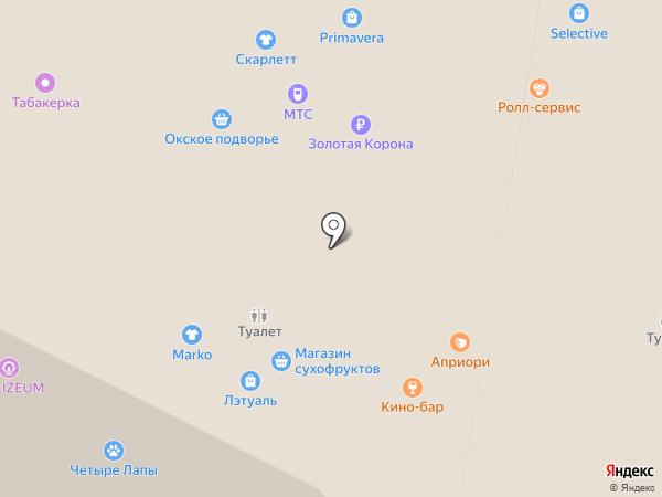 Л`Этуаль на карте Рязани