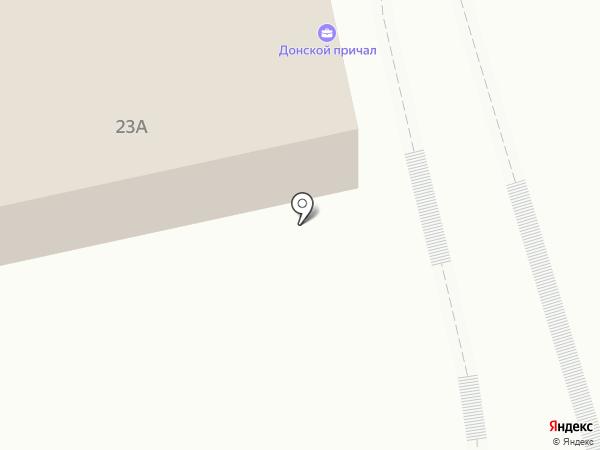 Сули да Гули на карте Ростова-на-Дону