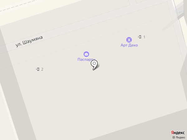 ИнтерМед-Юг на карте Ростова-на-Дону