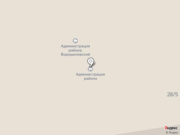 Объединенная диспетчерская служба Ворошиловского района на карте Ростова-на-Дону