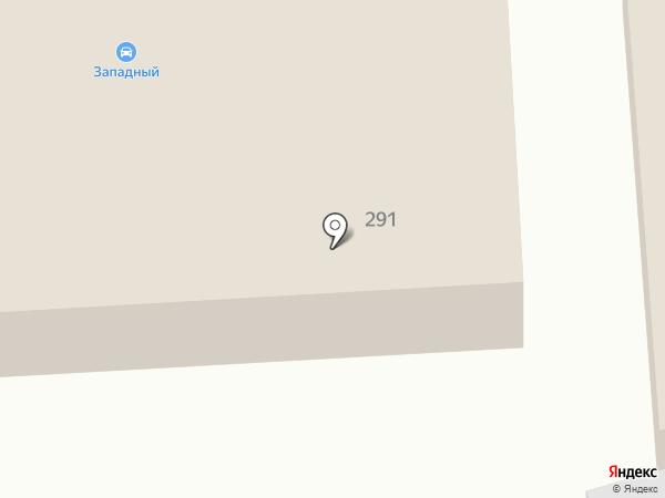 Западный на карте Батайска