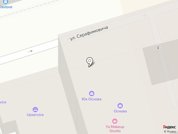 Лион на карте Ростова-на-Дону