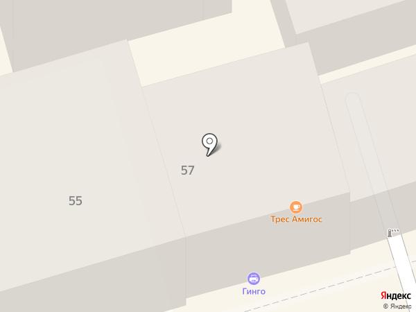 Магазин женской одежды на карте Ростова-на-Дону