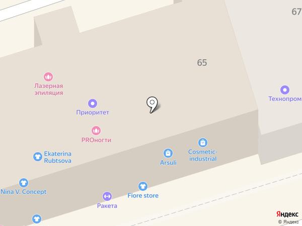 FourT на карте Ростова-на-Дону