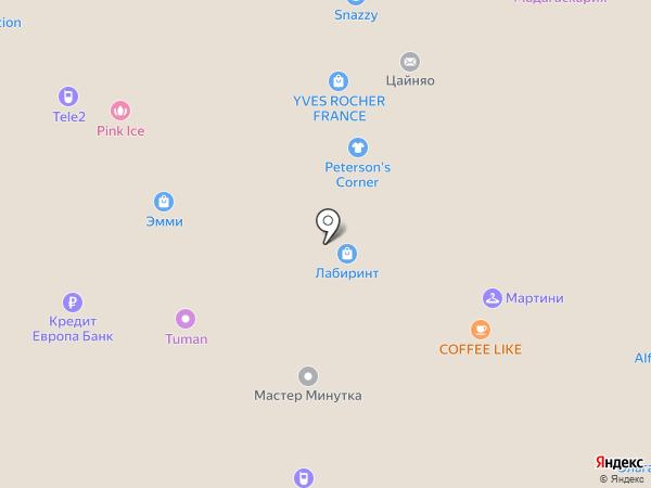 Лабиринт.РУ на карте Рязани
