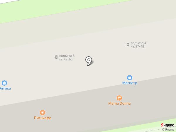 Мама Pizza на карте Ростова-на-Дону