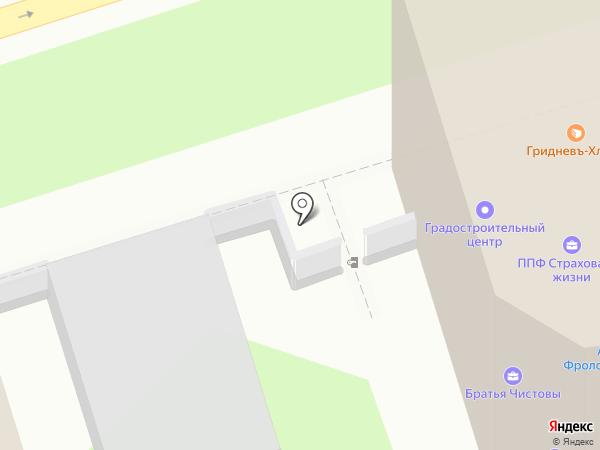 КапиталТорг на карте Ростова-на-Дону