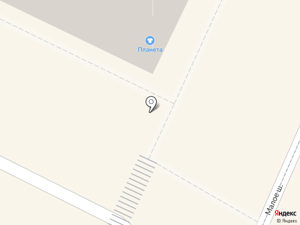 Планета на карте Рязани