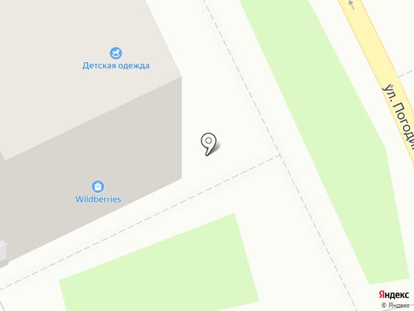 Медея на карте Ростова-на-Дону