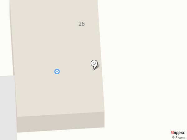 Ветеринарная лечебница на карте Батайска