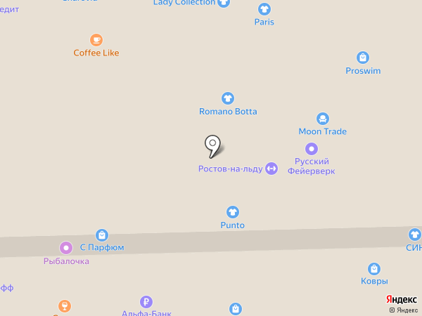 Банкомат, ФОРА-БАНК на карте Ростова-на-Дону