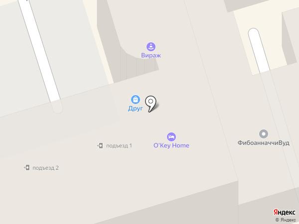 Радуга-Тур на карте Ростова-на-Дону