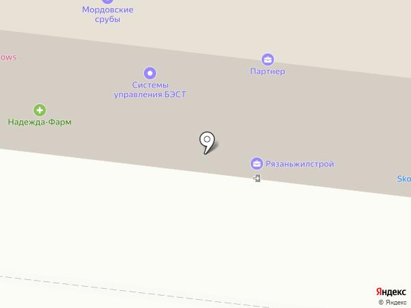 Престиж на карте Рязани