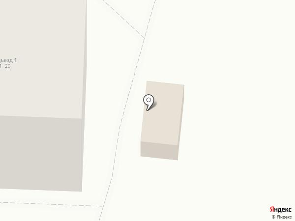 Одуван на карте Ростова-на-Дону