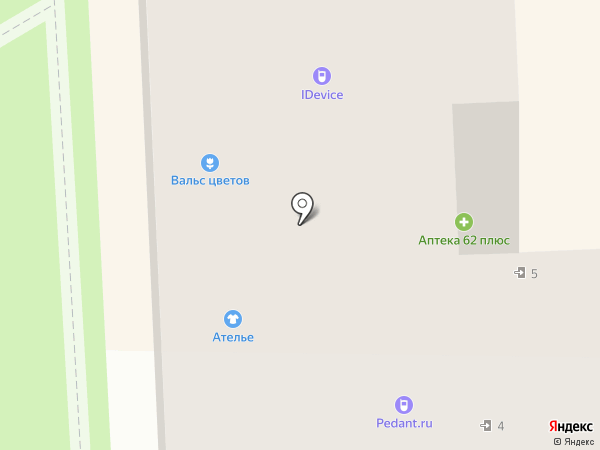 Автоделика на карте Рязани