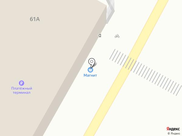Магнит на карте Рязани