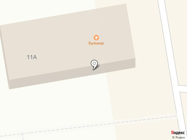Бульвар на карте Ростова-на-Дону