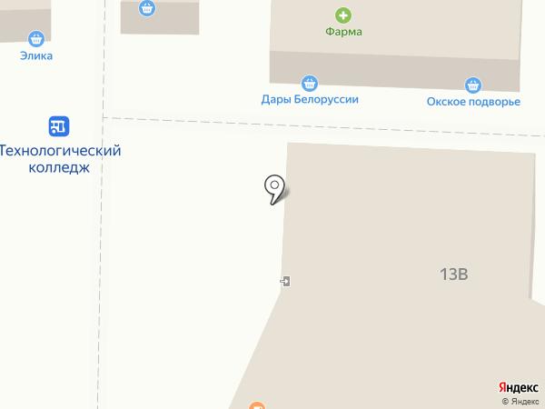 Амбар на карте Рязани
