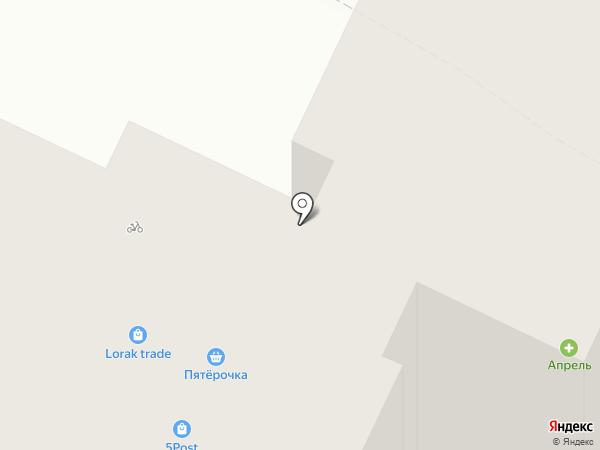 Lorak на карте Рязани
