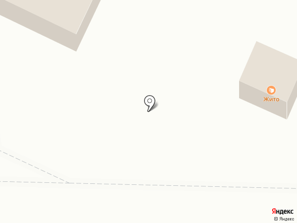 Жито на карте Рязани
