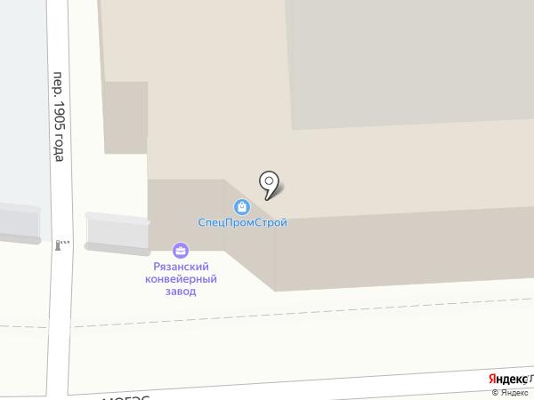 СпецПромСтрой на карте Рязани