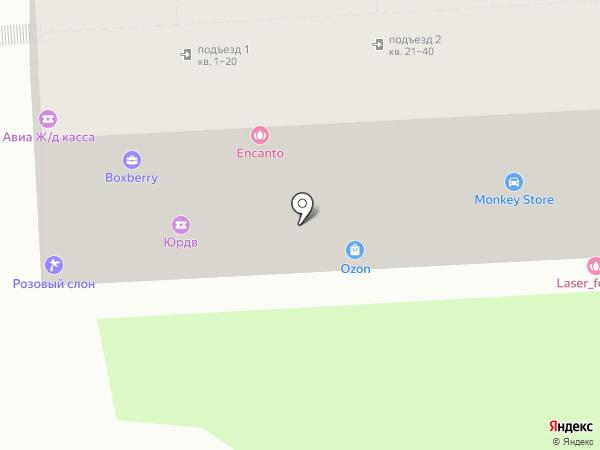 Эстет на карте Ростова-на-Дону
