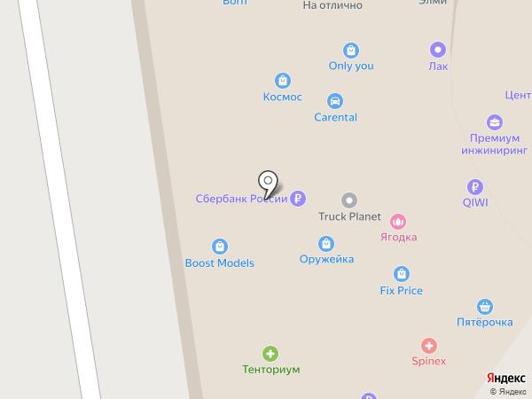 Линия безопасности на карте Ростова-на-Дону