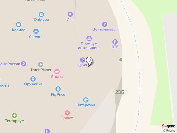 Ко Пуэр на карте Ростова-на-Дону