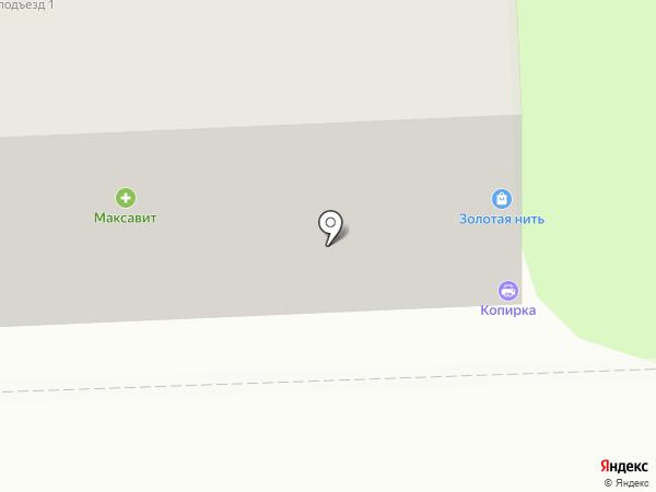 Юничел на карте Рязани