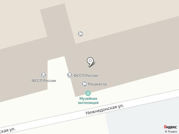 Управление Федеральной службы государственной регистрации на карте Ростова-на-Дону