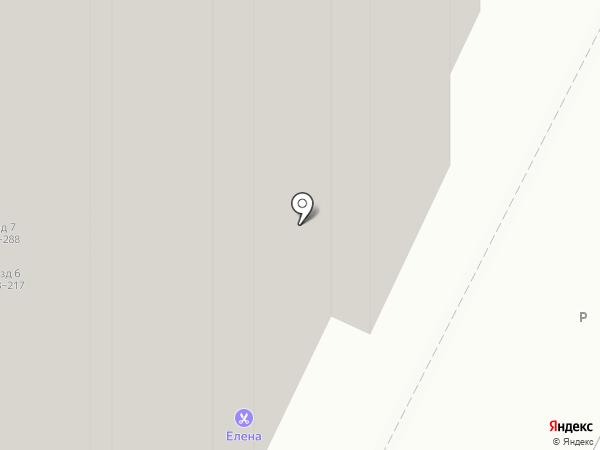 Елена на карте Рязани