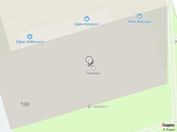 Промтехника на карте Ростова-на-Дону