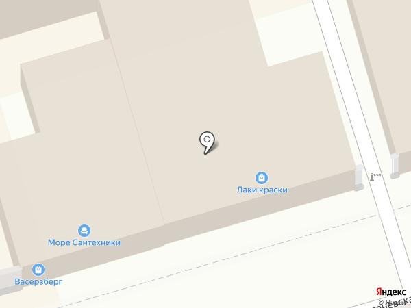 Профессиональный магазин сантехники на карте Ростова-на-Дону