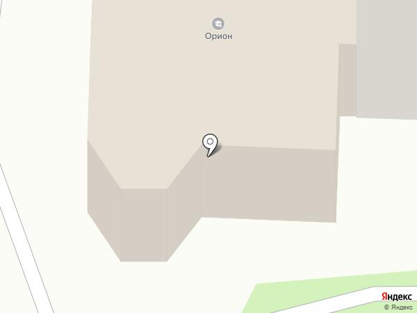 Орион на карте Рязани