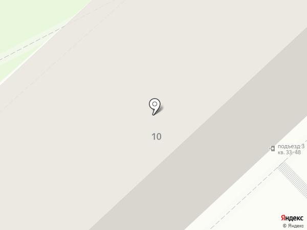 Городская Роща-3 на карте Рязани