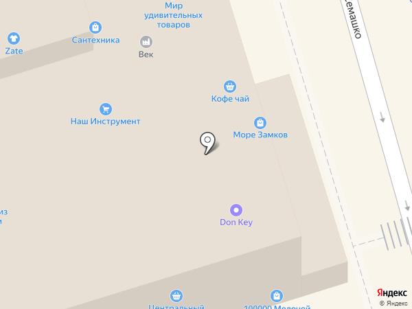 Икра на Дону на карте Ростова-на-Дону