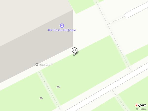 Мастград на карте Ростова-на-Дону