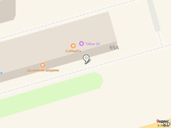 BUS_GARAGE на карте Ростова-на-Дону