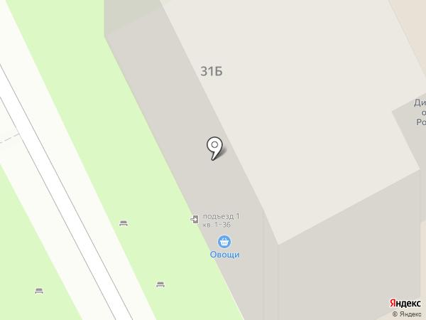 Орел на карте Ростова-на-Дону