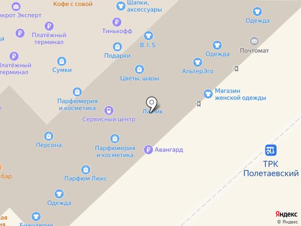 Бутон на карте Рязани