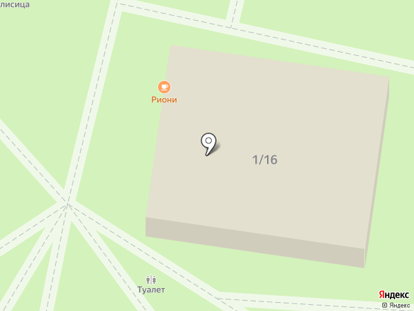 Парк Юрского периода на карте Сочи