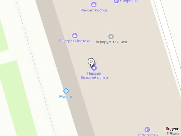 ПРОФИТ КОНСАЛТИНГ ГРУПП на карте Ростова-на-Дону