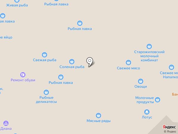 Персона на карте Рязани