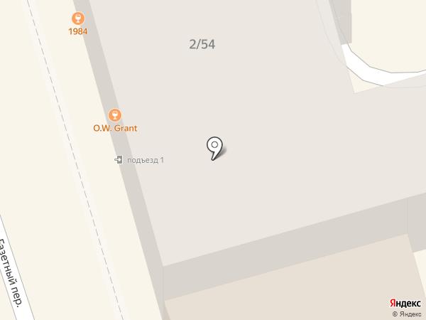 Эду-арт на карте Ростова-на-Дону