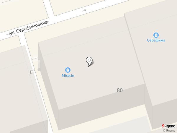 Николя на карте Ростова-на-Дону