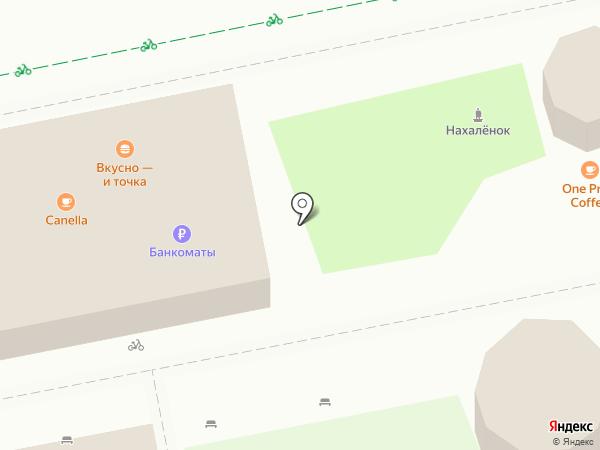 МакДоналдс на карте Ростова-на-Дону