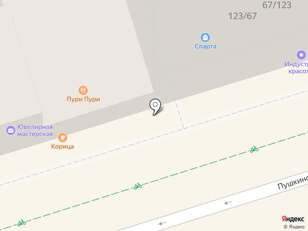 СтеклоИндустрия на карте Ростова-на-Дону