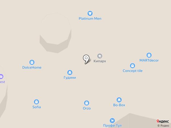 La Galleria на карте Ростова-на-Дону