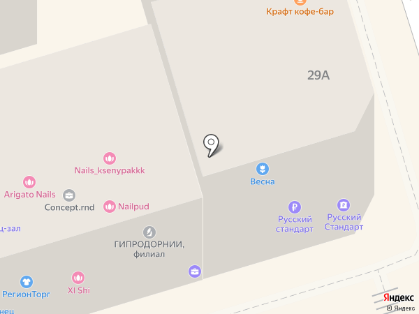 Банкомат, Банк ВТБ 24 на карте Ростова-на-Дону